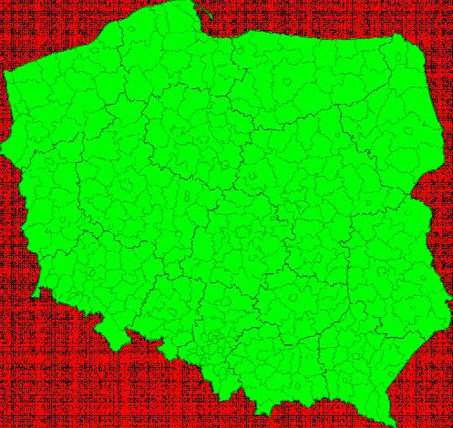 Aktuelle Unwetterwarnungen Polska
